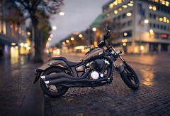 Eighty Inch (Edd Noble) Tags: bokeh bokehpanorama canonfd85mmf12 sonya7 sweden gteborg gothenburg motorbike motorcycle