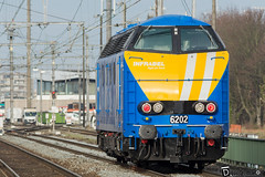 Gand-Gent-Dampoort Infrabel 6202-2 (DiL Photos) Tags: infrabel croissrail sncb am96 bombardier alstom siemens vectron traxx class66 desiro am08 type 13 fret hkm cargo