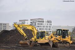 CAT 963D (Alexandre Prvot) Tags: construction travaux chantier worksite buildingsite construccin baustellebauplatz cugn grandnancy lorraine