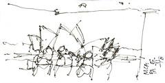Sydney MCA (panda1.grafix) Tags: mca sydneyharbour sketch