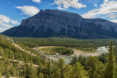 Tunnel Mountain (djmeister) Tags: banff national canadian canada park mountain tunnel rockies