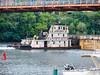 River Towboat (Harold Brown) Tags: architecture bridge haroldbrown monongahelariver outdoor pennsylvania pittsburgh river sonydsch5 stationsquare summer towboat transportation travel usa water watercraft bhagavideocom haroldbrowncom harolddashbrowncom photosbhagavideocom