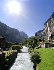 Lauterbrunnen (Picturethescene) Tags: swiss alps mountain landscape paysage hiking lauterbrunnen typical