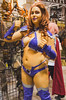 078 (Fearless Zombie) Tags: calgary calgarycomicentertainmentexpo calgaryexpo calgaryexpo2015 dccomics dccosplay starfire comiccon cosplay costume costumeplay