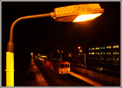 Oil Lamp (david.hayes77) Tags: 60059 class60 tug 6m00 beeston nottinghamshire nottingham freight night 2016 oil tanks lamp dbs dbschenker oillamp ng9