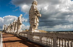 The Apostles (martyndeverell) Tags: vatican apostles apostle saint rome italy martyndeverell canon 700d statue statues outdoor religion john baptist holy clouds twelve jesus