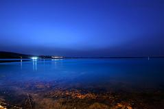 - blue lagoon -  Laguna di Orbetello (swaily ◘ Claudio Parente) Tags: maremma maremmans orbetello laguna notte toscana tuscany swaily claudioparente nikon acqua lagoon