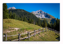 Way to the mountain (glank27) Tags: mountain railing fence trentino dolomiti dolomites italy alto adige karl glanville canon eos 70d efs 1585mm f3556 nature trekking landscape ngc pradel