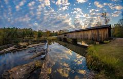 Water under the Bridge (Jon Ariel) Tags: wooden bridge watson mill 1885 north georgia state park water reflection