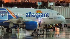 "12039 • Allegiant ""Visit Florida"" detail (N228NV) (Visual Approach Graphics & Imaging) Tags: fortlauderdale fll kfll allegiant visitflorida n228nv a320 a320214"