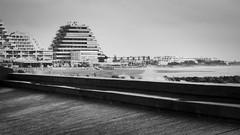 November time (Phil_Heck) Tags: lignes architecture bâtiment mer sea digue littoral éléments monochrome noiretblanc bw pyramide paysage ville station