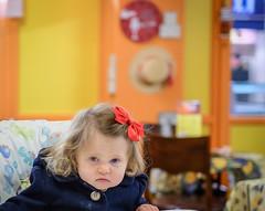 Grumpy madam ! (rick.midgley123) Tags: grumpy child baby fuji xt1 infant