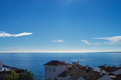 View (Kym.) Tags: andalucia andalusia blue cloud day2 house nerja sea sky spain view
