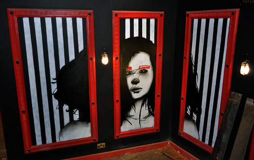 id-iom v Coyote Ugly (Stripes triptych)