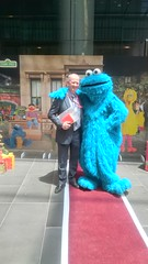 Cookie Monster - Sesame Street Australia Post Meet and Greet 2016 (avlxyz) Tags: cookiemonster sesamestreet australiapost