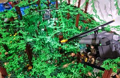 Over the Jungle (thebeeze111) Tags: gbw greatbrickwar vietnam moc lego huey jungle
