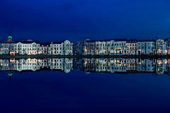 04:30 pm (Rainer D) Tags: 2016 schwerin mecklenburgvorpommern deutschland blue bluehour water sky city cityline ef2470mmf28lusm canon6d canon6def2470mmf28lusm