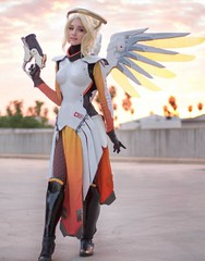 Lyz Brickley as Mercy (Chikkenburger) Tags: memebase memes videogames video funny cheezburger chikkenburger