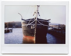 Ship (Past Our Means) Tags: ship mystic seaport boat instax instant instaxwide film filmisnotdead istillshootfilm fuji wide 210 connecticut