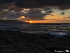 Sunset @ Rick's Reef (orgazmo) Tags: guam landscapes sunsets sun sundown clouds cloudformations sky skyscapes cloudscapes seascapes ricksreef tamuning aganabay coastlines pentax 645z dfa64555mmf28 mediumformat