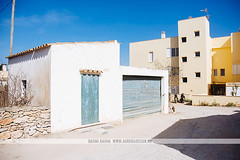 Siesta in Formentera, Spain (Naomi Rahim (thanks for 3 million visits)) Tags: formentera ibiza spain españa balearicislands mediterranean island town europe europa travel travelphotography nikon nikond7200 wanderlust santfrancescxavier architecture blue door siesta street streetphotography shadow summer bluesky santfrancescdeformentera