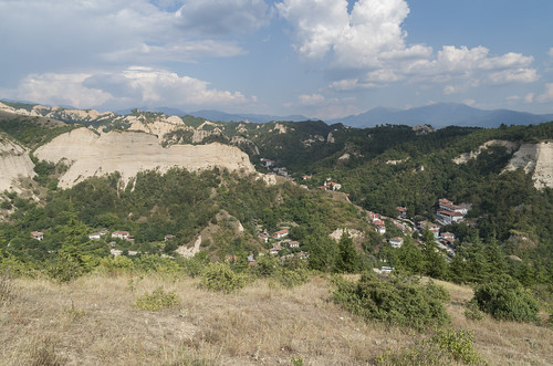 View over Melnik, 25.07.2015.