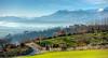 Strada sopra Bollengo d'Ivrea, Canavese (rasocarlo66) Tags: bollengo ivrea canavese campanileromanico sanmartino viafrancigena francigena