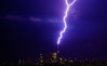 Color of Night (Sandeep_Nigam) Tags: lightening cntower toronto night downtown storm tempest