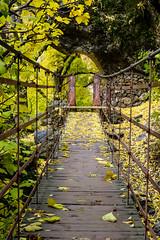 Spain - Granada - Monachil - Los Cahorros Footpath (Marcial Bernabeu) Tags: marcial bernabeu bernabu spain espaa andaluca andalusia andalucia granada monachil cahorros loscahorros sendero footpath path trail bridge puente