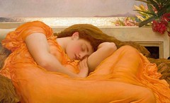 Flaming June (detail)  // by Frederic Leighton (mike catalonian) Tags: fredericleighton flamingjune