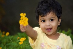 Happy Independence Day...India (Selva Rangam) Tags: beauty bouquet beautifulchild