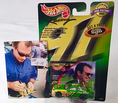 #13-18, Chad Little, Signing,  Hot Wheels, 1999, Racing, Pro Racing, NASCAR, #97, John Deere, BP (Picture Proof Autographs) Tags: 1318 chadlittle signing hotwheels 1999 racing proracing nascar 97 johndeere bp withpictureproofphoto ppp