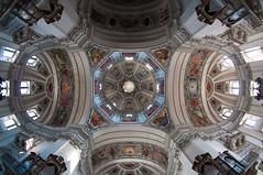 The Wide Dome (Sebastian Niedlich (Grabthar)) Tags: salzburg church austria österreich nikon cathedral dom kirche sigma fisheye dome d90 salzburgcathedral salzburgerdom grabthar sebastianniedlich nikond90 sigma182003563dcos sigma10mmf28exdcfisheye