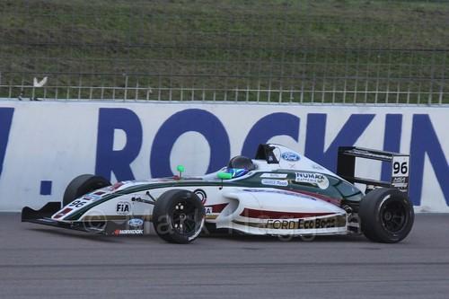 Jack Butel in MSA Formula at Rockingham, September 2015