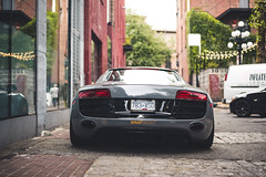 Wrap-Workz Audi R8 V10 (Brandon Dy Tang) Tags: street canada cars vancouver photography nikon downtown photographer photoshoot wheels fast automotive exotic audi gastown luxury r8 audir8 wrapworkz brixtonforged