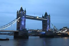 Tower Bridge, London, United Kingdom (Tiphaine Rolland) Tags: uk greatbritain bridge blue england london water rain thames night towerbridge river lights nikon eau unitedkingdom pluie rivière bleu londres gb pont angleterre 1855mm 1855 nuit lumières 2015 royaumeuni tamise grandebretagne d3000 nikond3000