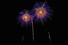 第25回赤川花火大会 The 25th Fireworks Festival in Akagawa (ELCAN KE-7A) Tags: japan river pentax fireworks 日本 yamagata 山形 花火 tsuruoka 2015 鶴岡 ペンタックス akagawa 赤川 k5ⅱs