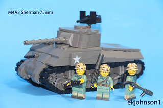 M4A3 Sherman 75mm