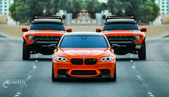Mpower (BLouSHi) Tags: orange ford army f150 raptor bmw kuwait m5 q8 mpower kwt kuw bloushi