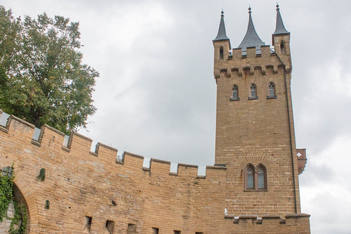 Tour pont-levis au château de Hohenzollern
