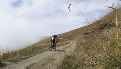 one minute of sun (will_cyclist) Tags: cycling piemonte vtt sampeyre stradadeicanoni