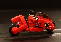 ...lean like you're trying to kill yourself! (SPARKART!) Tags: bike toy lego motorcycle akira kaneda sparkart