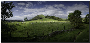 Chrome hill panorama from Dowel Dale