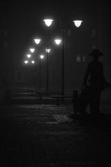 (rozhansky) Tags: light blackandwhite black monument monochrome night canon photo russia kit