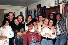 Salamanca 1993 (Pepe Fernndez) Tags: fiesta grupo recuerdos fotodegrupo digitalizado fotosenpapel recuerdosenpapel