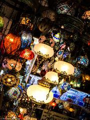 (Abdallah A. Mansour) Tags: light art lamp canon turkey shopping eos sigma places istanbul oriental orient grandbazaar 550d