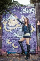 DSC_4664+ (Aventador_A) Tags: bear portrait sexy boot graffiti nikon dress melbourne jacky speedlight d800 fitzory 2013 sb910