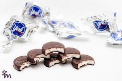 Six Chocolate Treats (take two) (4inthehouse) Tags: white chocolate six peppermintpatties yorks taketwo