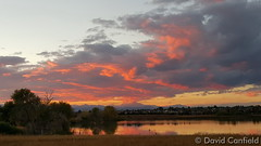 October 7, 2015 - Sunset reflections on Broomfield's McKay Lake. (David Canfield)