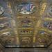 Le décor du plafond de la Bibliothèque de Sansovino (Venise)